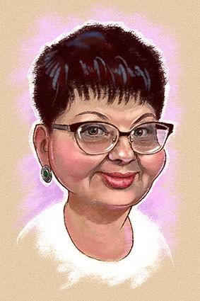 Мини шарж в подарок, портрет с юмором